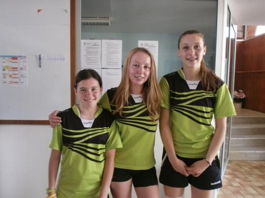 Clara, Laurine, Joanna